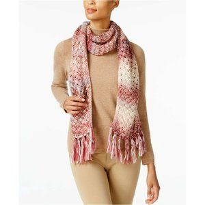 International Concepts Metallic Space Dyed Scarf
